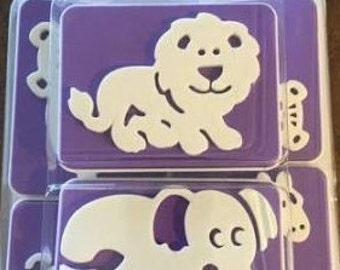 Animals 6pc. (Wilton) Cake Stamp Set
