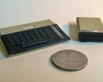 Mini Atari 800XL and 1050 disk drive - 3D Printed!