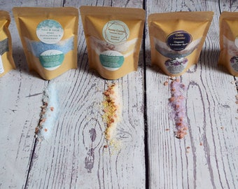 Natural Therapeutic Salt Soaks