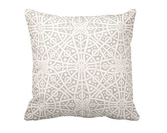 Decorative Throw Pillow Cover Grey Throw Pillows for Couch Grey Pillows Gray Pillows Decorative Pillows Celtic Decor Ivory Pillow Covers