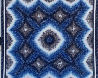 Sister Bargellos - Radiant Galaxy and Mitered Cross Quilt Patterns