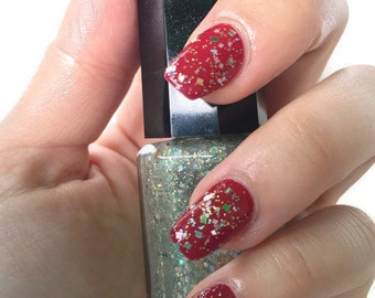 Classy Glitter Nail Polish ~ Snowflake