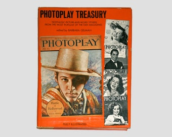 Vintage Photoplay Book, Photoplay Treasury, Photoplay Magazine, Nostalgia, Vintage Book, Hollywood Stars, Vintage Hollywood, Movie Stars