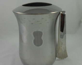 Copco Stainless Barware Ice Bucket with Lid & Tongs