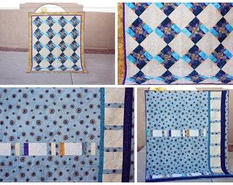 Scrappy Pinwheel Quilt (Free Shipping)