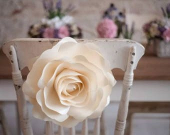 Wedding Reception Chair Decor