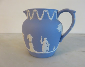 Wedgwood Jasperware Blue Water Vessel