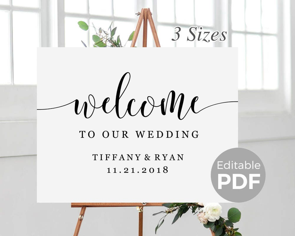 It's just a photo of Bright Free Printable Welcome Sign