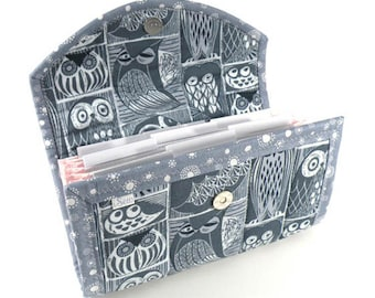 COUPON / EXPENSE / RECEIPT Organizer - Blue Owls - Coupon Organizer Cash Budget Receipt Organizer Organiser