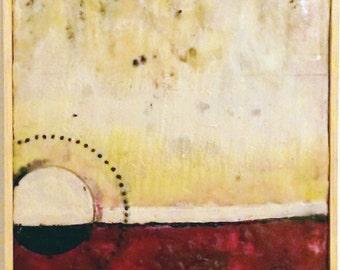 One, Encaustic Painting