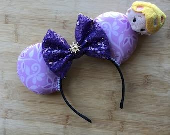 Rapunzel Ears, Rapunzel Mouse Ears, Princess Rapunzel Ears, Best Day Ever Ears, Minnie Ears, Disney Ears, Rapunzel Minnie Ears