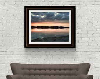 Sunset photography - Landscape Photography - Lake Photograph - Germany Photograph - Original Fine Art - Digital Download - Schwangau