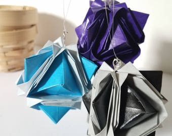 Origami Hanging ornaments