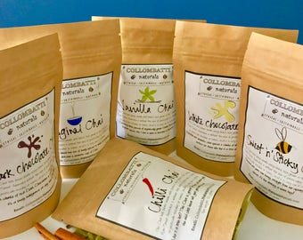 Tea - Hand Blended 2 Pack - Chai with Australian Grown Tea - Mother's Day Gift - Birthday/Thank You Gift - Eco Packaging
