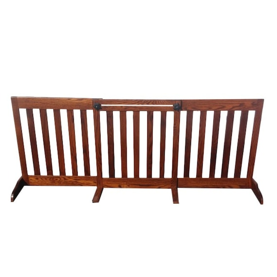 Wooden Dog Gate Baby Gates Indoor Dog Enclosure gates for