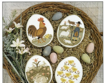 Just Hatched by Prairie Schooler Counted Cross Stitch Pattern/Chart