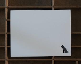 Letterpress Dog Note Cards - Set of 6
