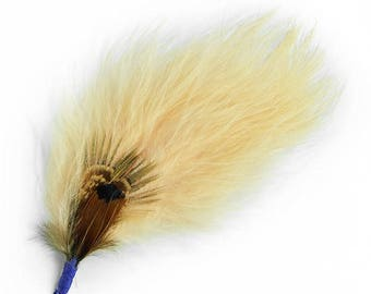 """Expo 4"""" Feather Plume Pack of 3"""