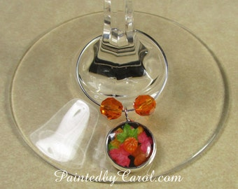 Pumpkin Wine Charms, Thanksgiving Wine Charms, Thanksgiving Table Decor, Thanksgiving Party Decor, Pumpkin Table Decor, Fall Decorations