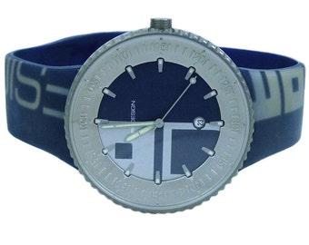 Momo Design Jet Titanium MD-087 Blue Mens Watch Quartz
