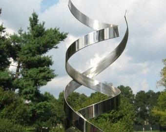 google modern office sculpture. Modern Abstract Stainless Steel Metal Sculpture Garden In/Outdoor By Andre\u0027 *Free Google Office