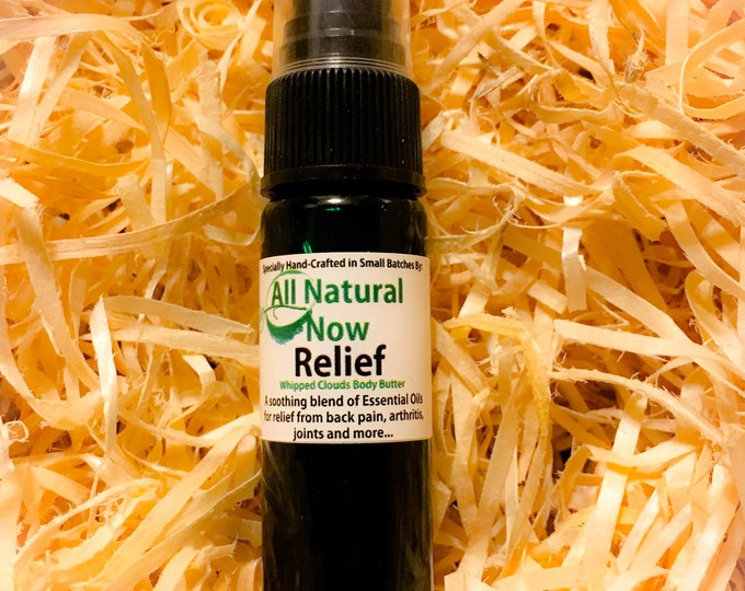 Relief Essential Oil Spray/100% Pure & Therapeutic Grade Essential Oils/Back Pain/Joint Pain/Arthritis