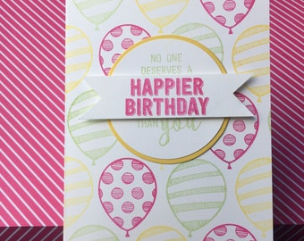 Assorted Pack of 10 Birthday Cards, Handmade Cards, Birthday Cards, Stampin' Up! Cards