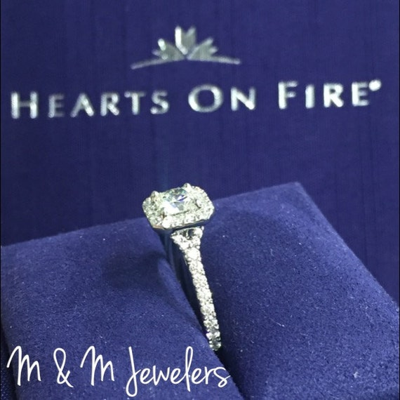 Hearts on Fire Diamond tw1.15ct Engagement Ring