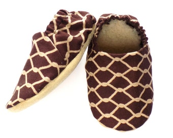 Cowboy Baby Boy Shoes, Baby Booties, Baby Soft Sole Shoes, Slip On Baby Shoes, Cowboy Ropes Shoes, Baby Boy Gift