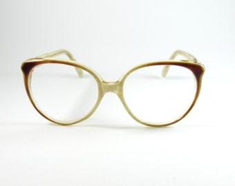 Vintage Eyeglasses, Valentino 004, Cat Eye Glasses, 70s, Womens Sunglasses, Gift for Her, Vintage Sunglasses, Designer Glasses, Cat Eye