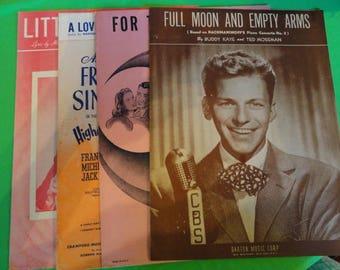 Frank Sinatra Original Vintage Sheet Music