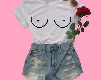 Boobs Feminist Shirt