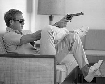 Steve Mcqueen / King of Cool 8 x 10 / 8x10 GLOSSY Photo Picture IMAGE #2