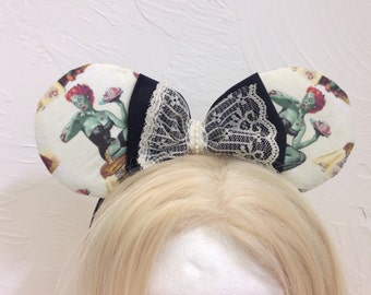 Zombie PinUp Mouse Ears