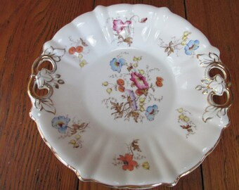 Vintage China Biscuit Plate