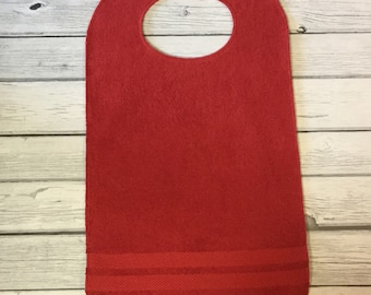Adult Bib/Clothing Protector