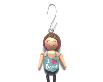I Love Barre Collection:  Shiloh (Ornament)  - CAN BE PERSONALIZED w/ Add-On Option