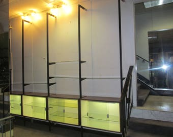 George Nelson Omni style Wall Unit System