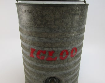 Relatively Galvanized cooler | Etsy JG95