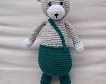 Crochet Bear Toy - Amigurumi - Tephra the Bear