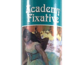 Ghiant Academy Fixative  - Fast Drying - 500ml Spray Can - General Purpose Fixitive For Fixing Pastel, Crayon and Charcoal.