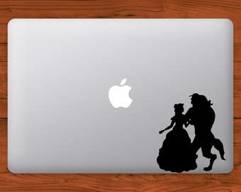 Beauty and the Beast Disney MacBook Decal Laptop Sticker