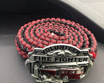 Handcrafted Paracord Belt