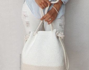 Crochet Pattern - Bryce Bag/Purse by Lakeside Loops (includes Adult & Child size)