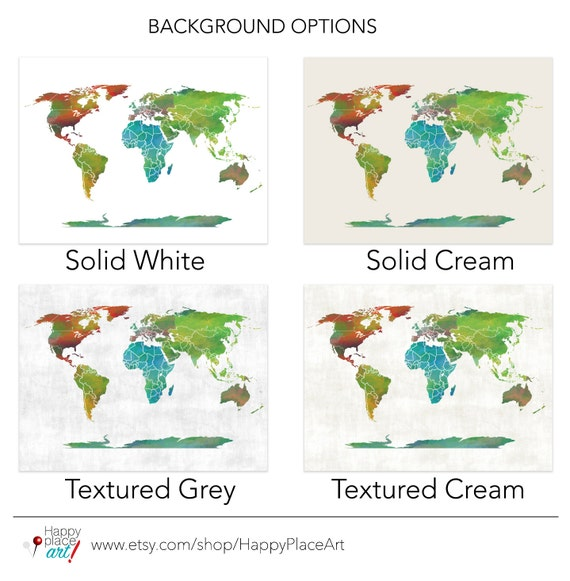 Educational Large World Map Country Borders Country Labels - World map with country labels