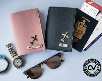 Best Seller Personalized Name Passport Covers / Passport Holder Travel must have Bag