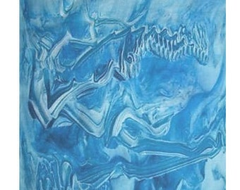 Arctic Blue Square Scarf