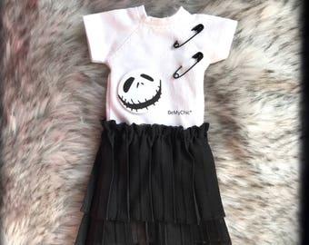 Blythe Dress Dal Pullip Dress Cloth Outfit - Skull