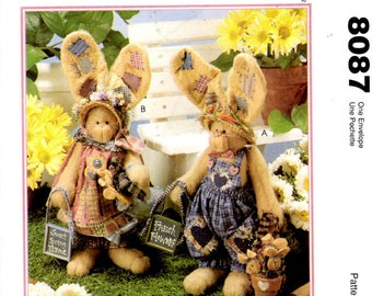 McCalls Crafts 8087 Sweet Spring Thyme Pattern for Bunny Family