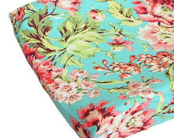 Coral Camila Changing Pad Cover
